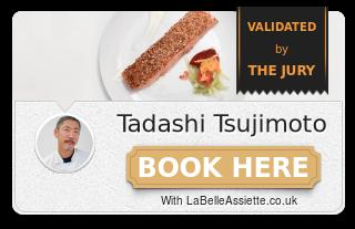 Chef Tadashi Tsujimoto