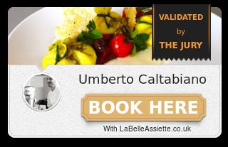 Chef Umberto Caltabiano