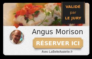 Chef Angus Morison