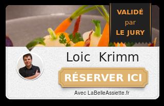 Chef Loïc Krimm