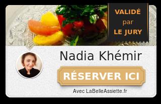 Chef Nadia Khemir
