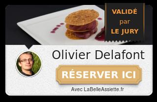 Chef Olivier Delafont
