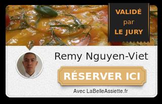 Chef Remy Nguyen-viet