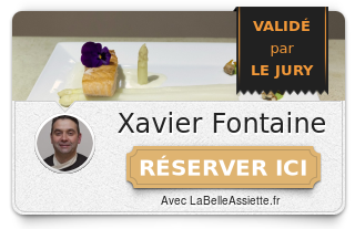 Chef Xavier Fontaine