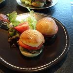 Mini burger en apéro pour les petits... et les grands!!!