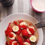pancake d'avoine