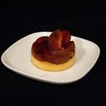 Tartelette crème d'amande aux prunes