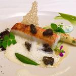 Sole white asparagus, morels, watercress (spring)