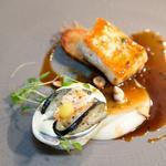 White halibut, abalone béarnaise, sunshokes