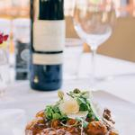 Lamb Gnocchi: Served in a delicious red wine and black pepper sauce
