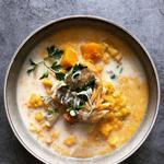 Haddock, pommes de terre binje et crème crue