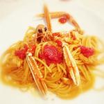 Seafood Spaghetti with Caviar
