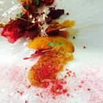 Peach, Raspberry and Clotted Cream