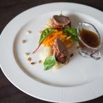 Pork, Pancetta, Rainbow Chard, Pine Nuts, Marsala