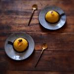 Un dessert en Asie ... gingembre, mangue et cacahuète