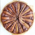 chocolate and pear guilty free cake
