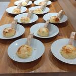 The ever popular mature cheese souffle