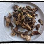 Ragout de champignons à la polenta végétal