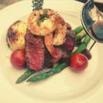 Fillet Steak and King Prawns Surf n' Turf