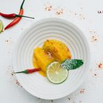 Mango, Lime and Chilli Sorbet
