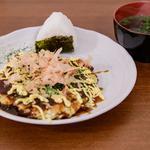 Okonomiyaki, la spécialité d'Osaka et soupe miso