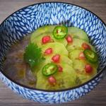 Ceviche de dorade aux agrumes et gingembre
