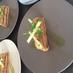 foie gras féra fumé