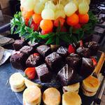 Trio of desserts ( buffet style)