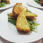 Brioche de foie gras façon pain perdu
