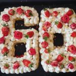 "Fraiser ""number cake"" géant"