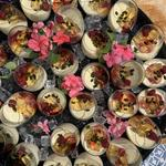 Whisky and Pistachio Panna Cotta - corporate event