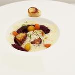 La Saint Jacques, la carotte pourpre et la citronnelle