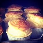 Cheese Souffles, can also be twice baked Souffles