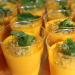 Velouté de carotte à la Thaï