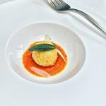 Four cheese arancini & tomato fondue