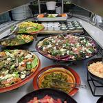 Salad bar, for Corporate event.. BAU ( Business as usual)