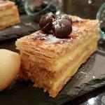 Mille feuille  a la vanille et crème pâtissière
