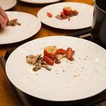 Tomatoe and mushroom
