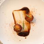 Sphères de pommes de terre, piment de guizhou
