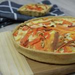 Tarte aux épluchures de carotte