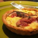 Tartelette aux figues et roquefort