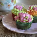 Cupcakes avec chantilly mascarpone.