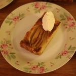 Pear and Almond Tarte
