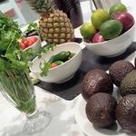 Fresh vibrant ingredients for the foodie classes