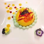 Dôme citron fleuri & sablé breton