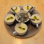 Creme Dubarry (Cream of Cauliflower soup)