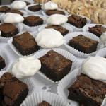 Brownies et meringues