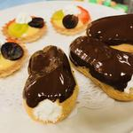 Afternoon Tea Delights Mini Eclair & Fruit Tartlet