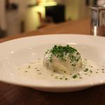 Choux farcis à la tête de veau et sauce au vin du Jura