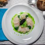 Carpaccio de Saint-Jacques et caviar de hareng